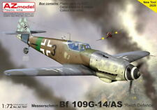 "Az Models 1/72 Messerschmitt Bf-109G-14As ""Luftwaffe Reich Defense"""
