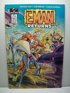 E-Man Returns #1 (1994, Alpha Productions) ~ 8.0 VF