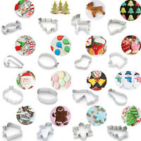 Cake Cookie Mould Mold Cutter Stainless Steel Christmas Fondant Biscuit Baking