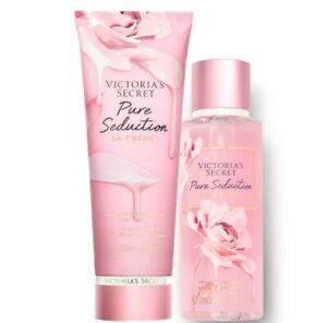 Victoria's Secret Pure Seduction La Crème Fragrance Lotion + Mist Duo Set