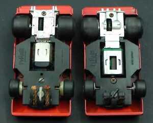 APS Policar Polistil Evolution Ferrari 312 PB motore primo tipo slot car 1:32