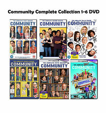 Community Complete Series Collection 1-6 DVD Season 1 2 3 4 5 6 Original UK New