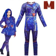 Descendants 3 Evil Costume Girls Kids Fancy Dress Cosplay Costume Outfits Makeup