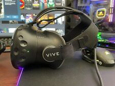 HTC Vive Headset, 3-In-1 Cable, Spare Face Mask & Lens Cloth