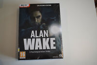alan wake edition collector collector's edition neuf sous blister