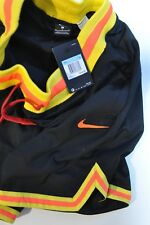 Nike DNA retro Mens shorts black yellow orange size M