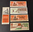 1960's Pennsylvania Forestry Smokey The Bear Fire Prevention Paper Ruler NOS 5
