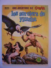 Une Aventure de CONAN n° 9 , Les Sorciers de Yimsha , LUG , 1979 , TBE++