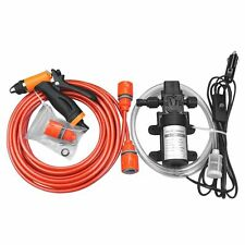 High Pressure Water Pump Gun Car Washer Portable Wash 12V Electric Self-Priming
