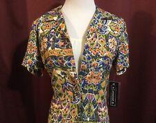 Elementz Shirt Tank Top Cami Combo NWT Size Medium 1pc Garment Festival Print