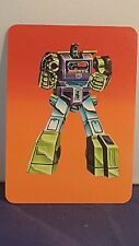 1985 Transformers G1 Action Cards Complete Your Card Set Optimus Prime Jazz !