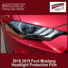Headlight Protection Film by 3M for the 2018 2019 Ford Mustang