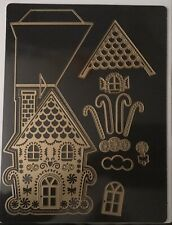 Anna Griffin Gingerbread House StorybooK Easter Christmas Easel Die Magnetic