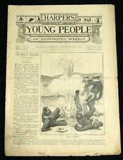 HARPER'S YOUNG PEOPLE AN ILLUSTRATED WEEKLY PUBLICATION 29 JUNE 1880 VINTAGE