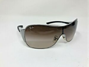 Ray Ban RB 3321 041/13 Shield Bronze Brown Gradient Sunglasses 3N ON32