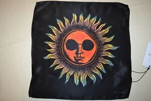 Paul Smith Large Psychedelic Sun Silk Pocket Square Mens Brand New