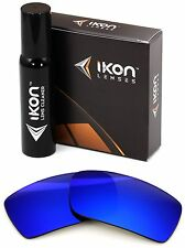 Polarized IKON Iridium Replacement Lenses For Oakley Gascan S SMALL - Deep Blue