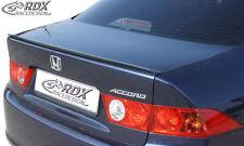 RDX Hecklippe Honda Accord 7 Limo Heckspoiler Spoilerlippe Heck Spoiler Lippe