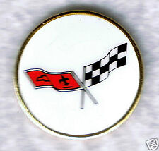 Automotive collectibles Chevrolet Corvette Logo (1977 style) tac-style pin