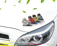Euro Football Cartoon Headlight Sticker Body Decal For BMW M5 M3 X1 X5 Car PET