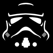 Star Wars STORM TROOPER Silhouette Bumper Sticker Window Car Truck Decal Vinyl