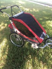 Thule Chariot Cougar 2 Stroller with jogging and bike trailer arm
