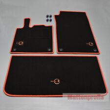Alfombrillas profesionales gamuza EDI tapices set para Smart Fortwo 450 a partir del año 1998 - 2007 or