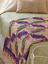 Pinwheel Trellis Quilt Pattern Pieced JR