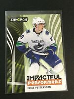 F60113  2019-20 Synergy Impactful Performers #GC16 Elias Pettersson CANUCKS