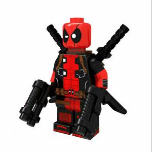Deadpool Minifigures DC Thor Loki Infinity War End Game Super Heroes Marvel LEGO