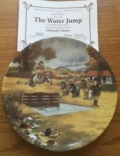 THELWELL PONY PLATE DANBURY MINT THE WATER JUMP PERFECT + CERTIFICATE