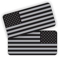 INFIDEL Black Ops American Flags Vinyl Hard Hat Stickers Decals Patriot Subdued