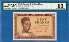 Mali, 100 Francs, 1960, UNC-PMG63, P2
