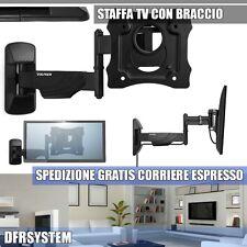 """BRACCIO STAFFA TV 16 18 19 20 22 24 POLLICI Vultech BTV-1326PRO Da 13"""" a 26"""""""