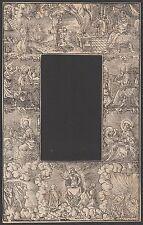 Holzschnitt Rahmen 16.Jh. Apokalypse Evangelisten Apocalypse Resurrection Hell