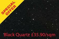 SAMPLE Black Quartz Sparkling Mirror Fleck WALL & FLOOR TILES