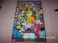 Rare Marvel Comics Avengers Infinity Crusade / Infinity War Promo Posters - C32