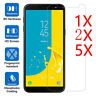 5X Tempered Glass Screen Protective For Samsung Galaxy J4 J6 A6 A8 Plus 2018 CAI