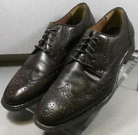 205722 PF50 Men's Shoes Size 11 M Brown Leather 1850 Series Johnston & Murphy