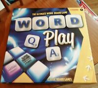 WORD PLAY THE ULTIMATE WORD BOARD GAME COMPLETE NICE CONDITION FAMILY (SCRABBLE)