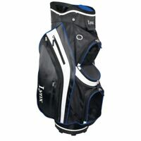 "Lynx Black Cat 9.5"" Deluxed Cart Bag Black/Blue Brand New Boxed 60% Off Sale"