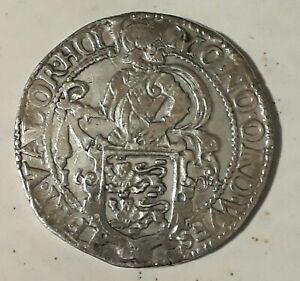 Löwenthaler 1604 Leeuwendaalder Olanda Nederland Tallero Leone Argento Rarissimo