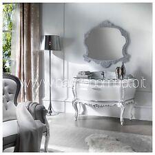 mobile bagno Stile Barocco Moderno Laccato Lusso Top Cristallo Swarovski