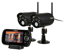 "Uniden Guardian G1420 - 4.3"" Wireless Day Night Surveillance Pack incl 2 Cameras"
