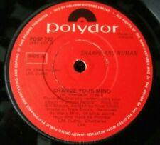 Sharpe And Numan - Change Your Mind - Irish Press  - 7 Single - Gary Numan