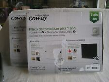 Two Coway 1 year replacement filter packs Nr 3304900 true hepa odor eliminator.