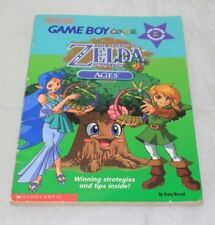 Scholastic Legend of Zelda Oracle of Ages Choose Your Own Adventures Book USED
