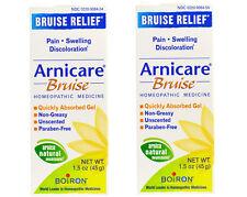 2 x Boiron Arnicare Bruise Relief Gel - 1.5 oz. each