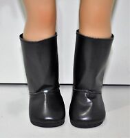 Fits American Girl Doll Our Generation Journey 18 Inch Dolls Clothes Black Boots