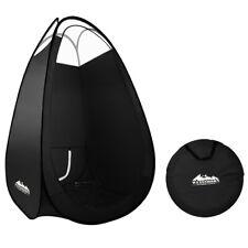 Spray Tan Tent Pop Up Sunless Tanning Sun Care Portable Carry Bag Black